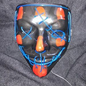 Light up mask